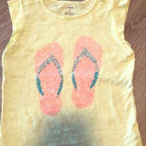 🔥 4 for $20 Girls Carter's T Shirt
